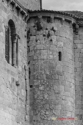 Eglise Saint-Sauveur, cité médiévale de Saint-Macaire. 28/09/2019. Photographie © Christian Coulais