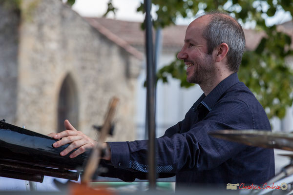 Christophe de Miras, Tom Ibarra Group. Festival JAZZ360, 10 juin 2017, Camblanes-et-Meynac