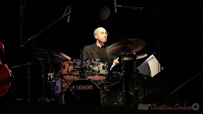 Pascal Legrand; Lo Jay et Serge Moulinier Trio. Festival JAZZ360 2010, Cénac. 12/05/2010