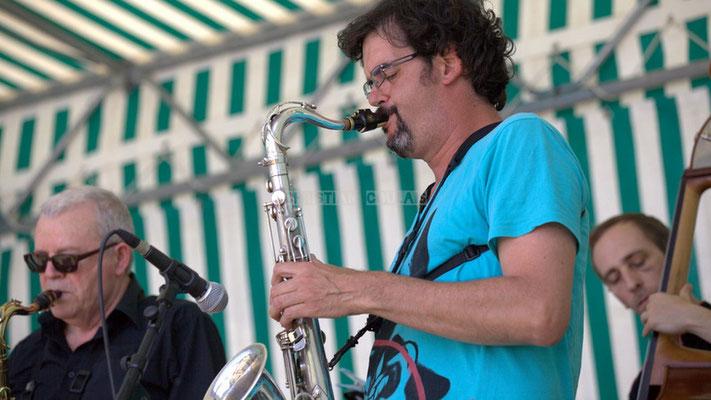 Festival JAZZ360 2014, Grat Martinez; Jazzméléon Trafic. Cénac, 07/06/2014