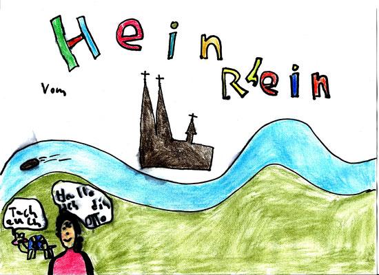 Hein die Schildkröte vom Rhein, Kinderbild