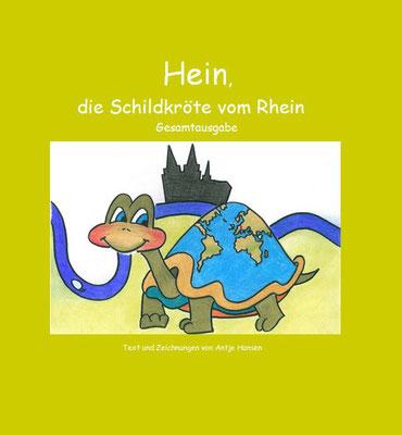 Hein die Schildkröte vom Rhein, Antje Hansen, Psst Hörmal Verlag