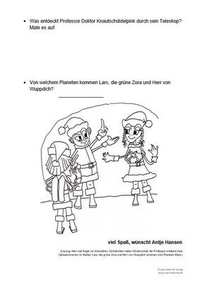 Hein die Schildkröte vom Rhein, Arbeitsblatt für Grundschüler
