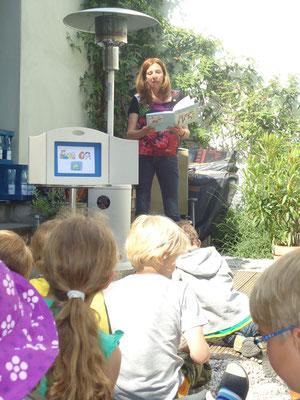 Kinderbuch-Lesung Buchhandlung Falderstrasse, Köln-Sürth
