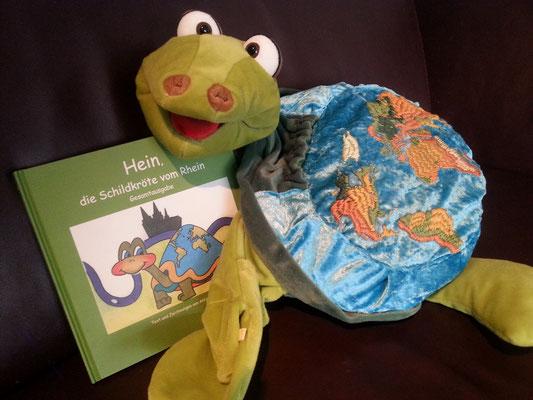 Autorenlesung Antje Hansen mit Hein die Schildkröte vom Rhein
