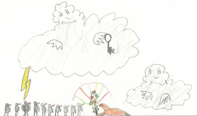 Abenteuer im Drachenwald, Kinderbild