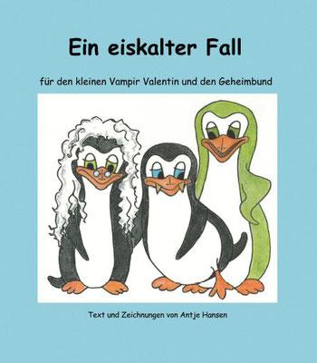 Ein eiskalter Fall, Vampir Valentin 4, Antje Hansen, Psst Hörmal Verlag