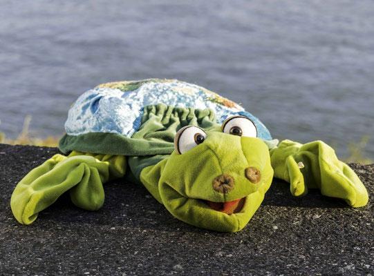Hein die Schildkröte vom Rhein, Autorenlesung Antje Hansen
