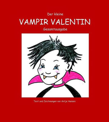 Der kleine Vampir Valentin, Antje Hansen, Psst Hörmal Verlag