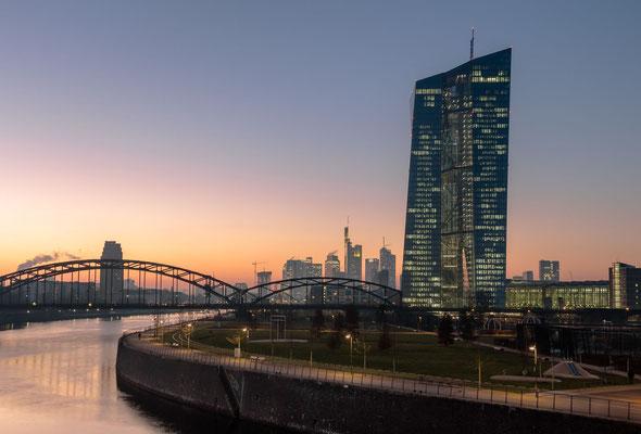 An der EZB Frankfurt