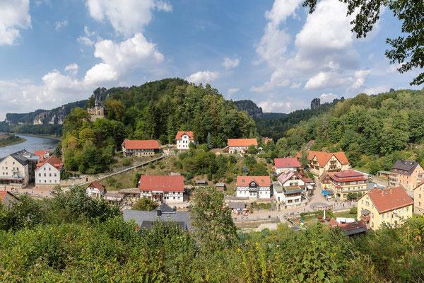 Kurort Rathen sächsische Schweiz