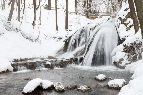 Wasserfall Großbartloff Eichsfeld