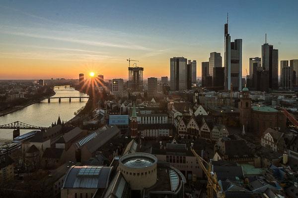 Frankfurt vom Dom