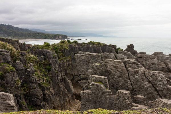 Punakaiki Pencake Rocks