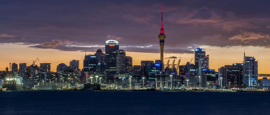 Der letzte Tag auf der Nordinsel. (Auckland)