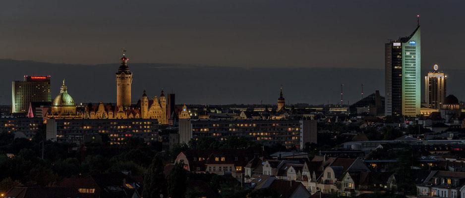 Leipzig vom Fockeberg