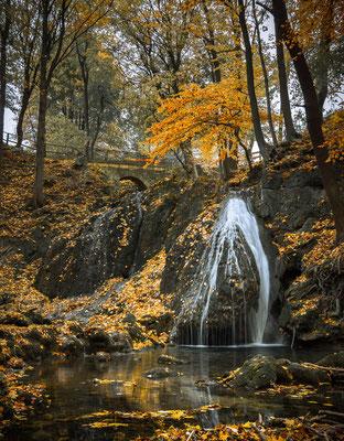 Wasserfall in Großbartloff