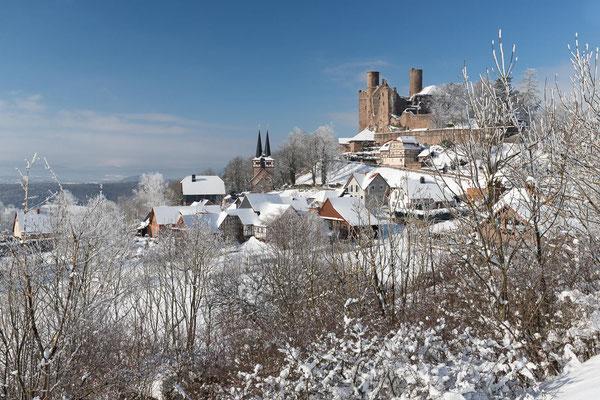 Burgruine Hanstein im Eichsfeld