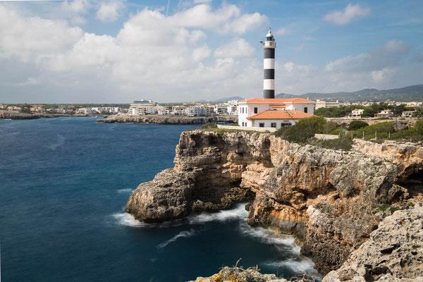 Lighthouse Portocolom/ Spanien