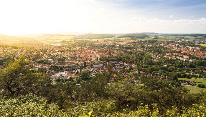 Blick über Heiligenstadt