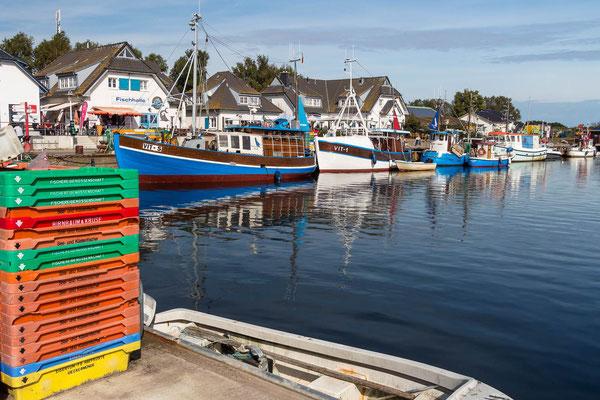 Hafen Hiddensee