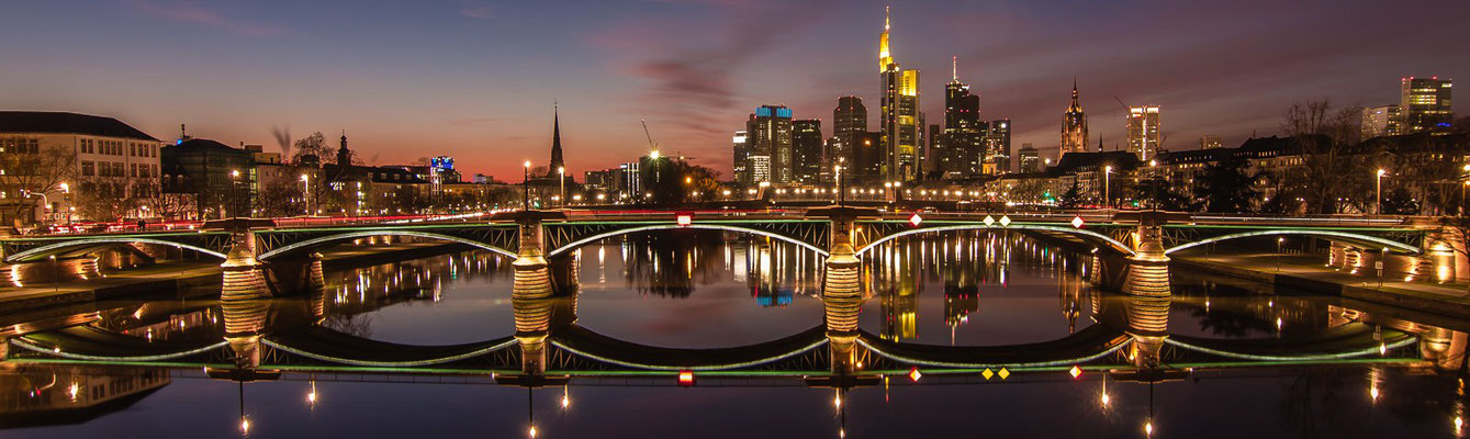 Skylineblick Frankfurt