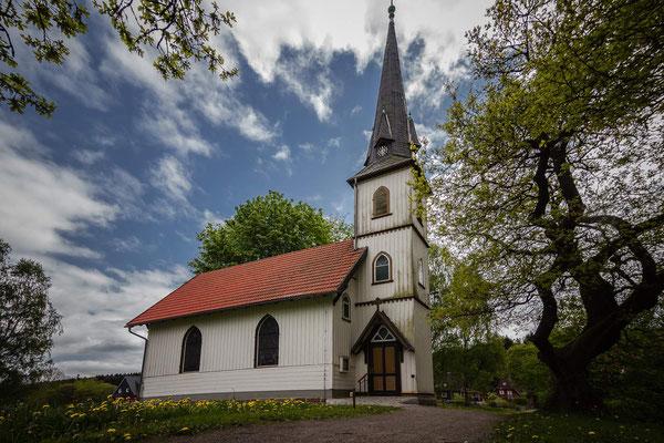 Die Holzkirche in Elend