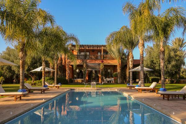 Location villa de charme avec piscine marrakech my - Location maison avec piscine marrakech ...