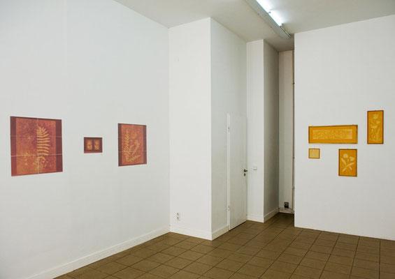 """""""Fade out"""", Ausstelllungsansicht, 2012, Axel Obiger, Berlin"""