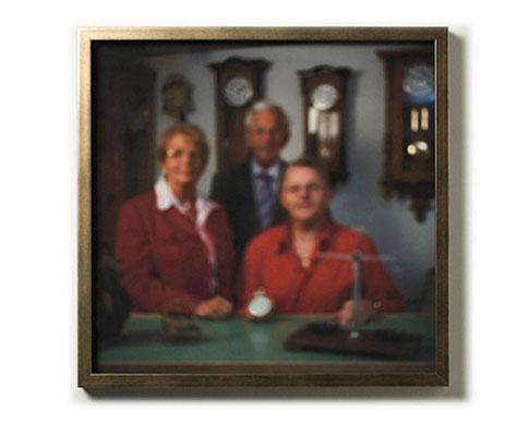 Eligius - Patron der Uhrmacher, Familie Prinz, Füssen 2010