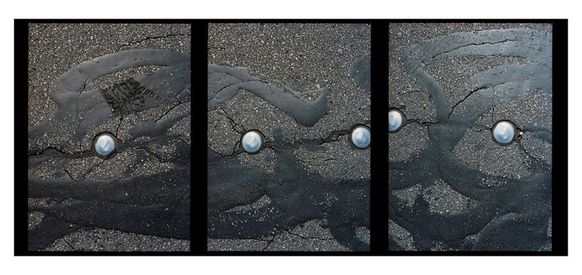 """…............ """"Straßenbelag"""", München 2005"""