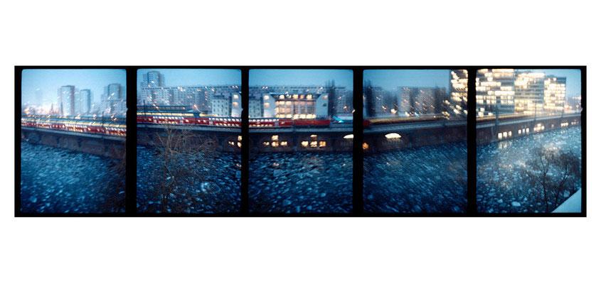 …............ Blick vom Dach, Berlin 2004