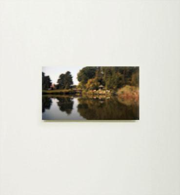 """""""japanische Brücke"""", 2014, Ausstellungsansicht, Köppe Contemporary, Berlin, 2014"""