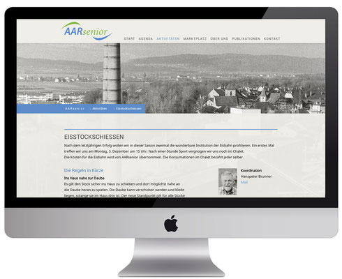 Webdesign, dickesdesign, aarberg, aarsenior, ausflüge