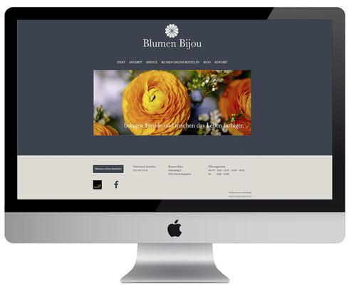 Webdesign, dickesdesign, aarberg, blumenbijou, hinterkappelen, startseite
