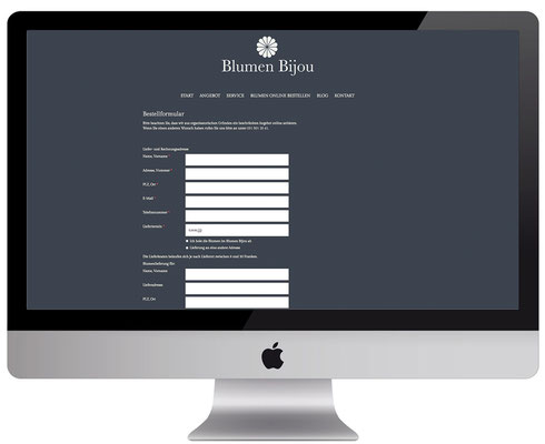 Webdesign, dickesdesign, aarberg, blumenbijou, hinterkappelen, online bestellen
