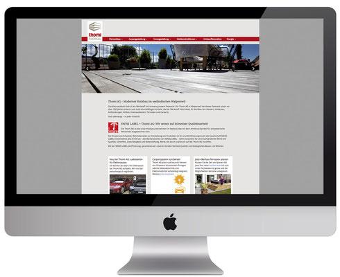 Webdesign, dickesdesign, aarberg, thomiag, startseite