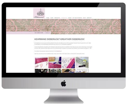 Webdesign, dickesdesign, aarberg, kehrwand, aarberg, siebdruck