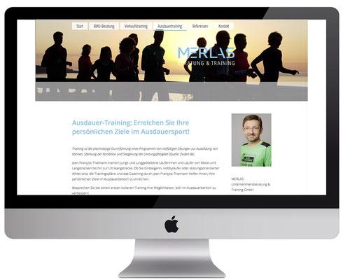 Webdesign, dickesdesign, aarberg, merlas, Ausdauertraining
