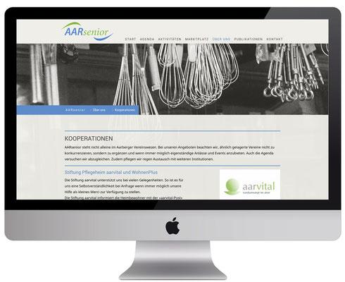 Webdesign, dickesdesign, aarberg, aarsenior, kooperation