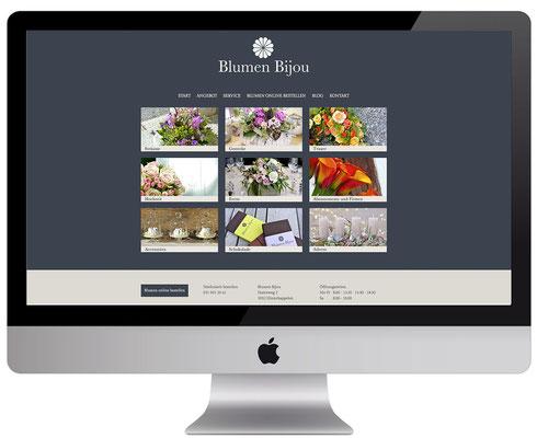Webdesign, dickesdesign, aarberg, blumenbijou, hinterkappelen, angebot