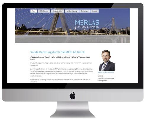 Webdesign, dickesdesign, aarberg, merlas, startseite, Jean-François Thalmann