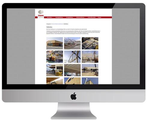 Webdesign, dickesdesign, aarberg, thomiag, hallenbau
