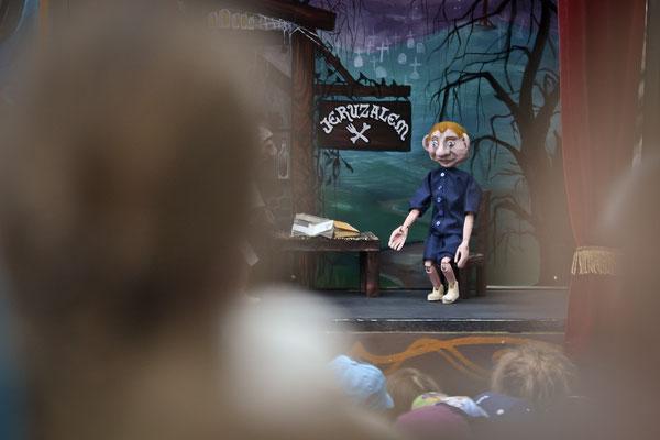 """""""Legendy gdańskie w marionetkach"""" (Teatr Barnaby, PL), FETA 2017, fot. Jarek Sopiński"""