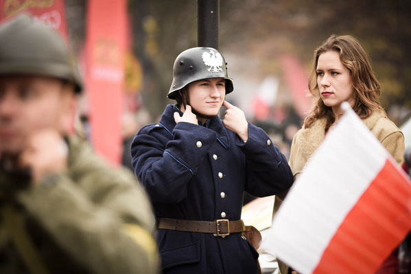 Parada Niepodległości w Gdańsku, fot. Jarek Sopiński