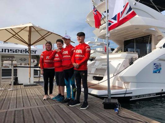 2018 Honda RYA Youth RIB Championships Southampton Boat Show