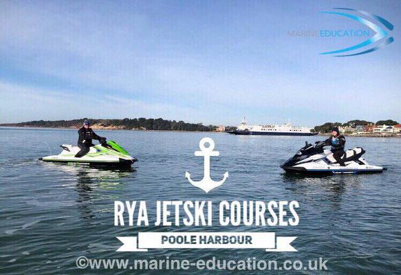 RYA Jetski (PWC) Course, Poole ©www.marine-education.co.uk