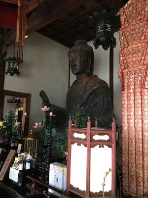 日本最古の飛鳥大仏