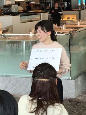 関東からご一緒して下さった松沢美恵さん♪