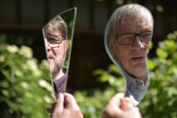 Platz 1 - Selfie - Bernd Reimann und Thomas Wiegand